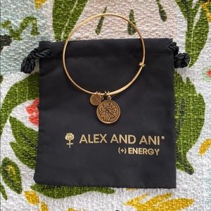Alex and Ani Bronze Mom Bangle